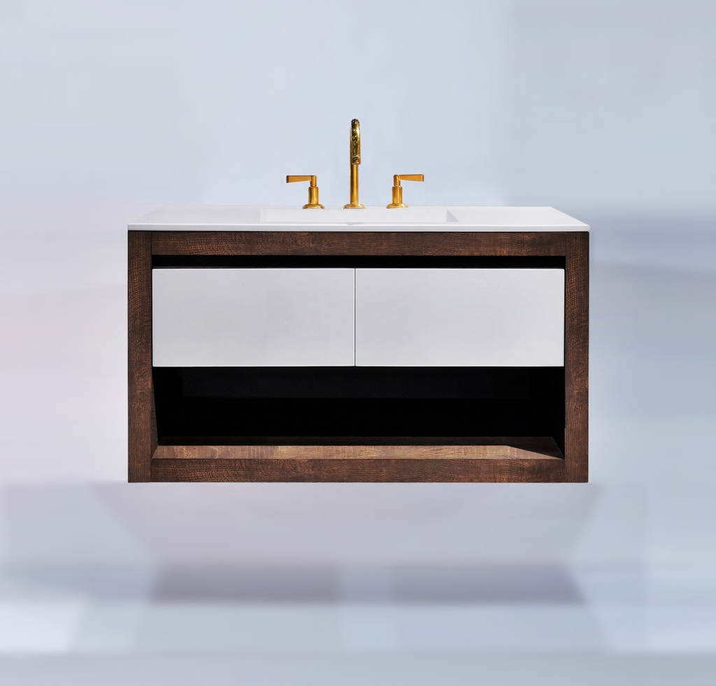 Bathroom Trends – Contrasting Finishes