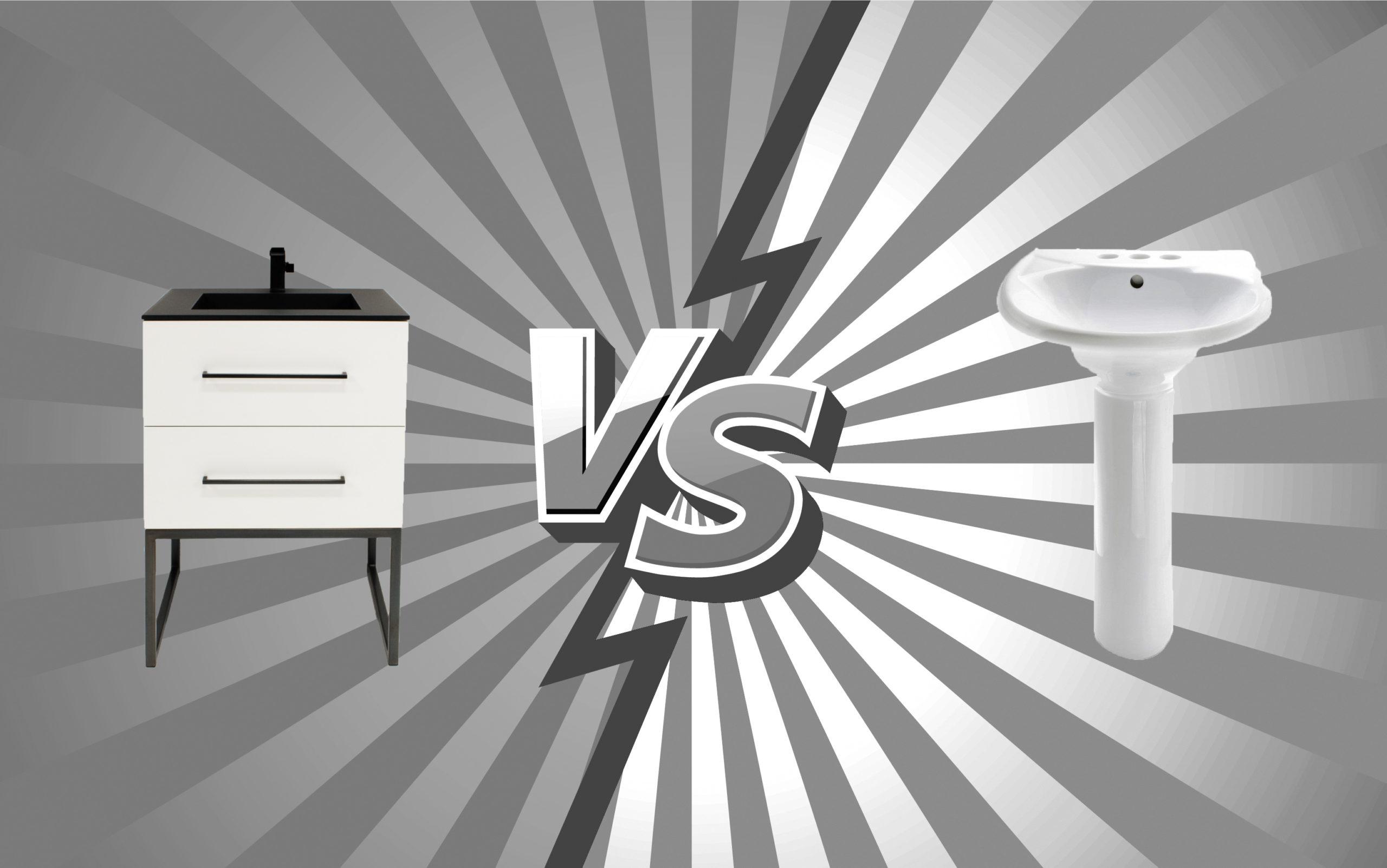 Vanity vs Pedestal Sink