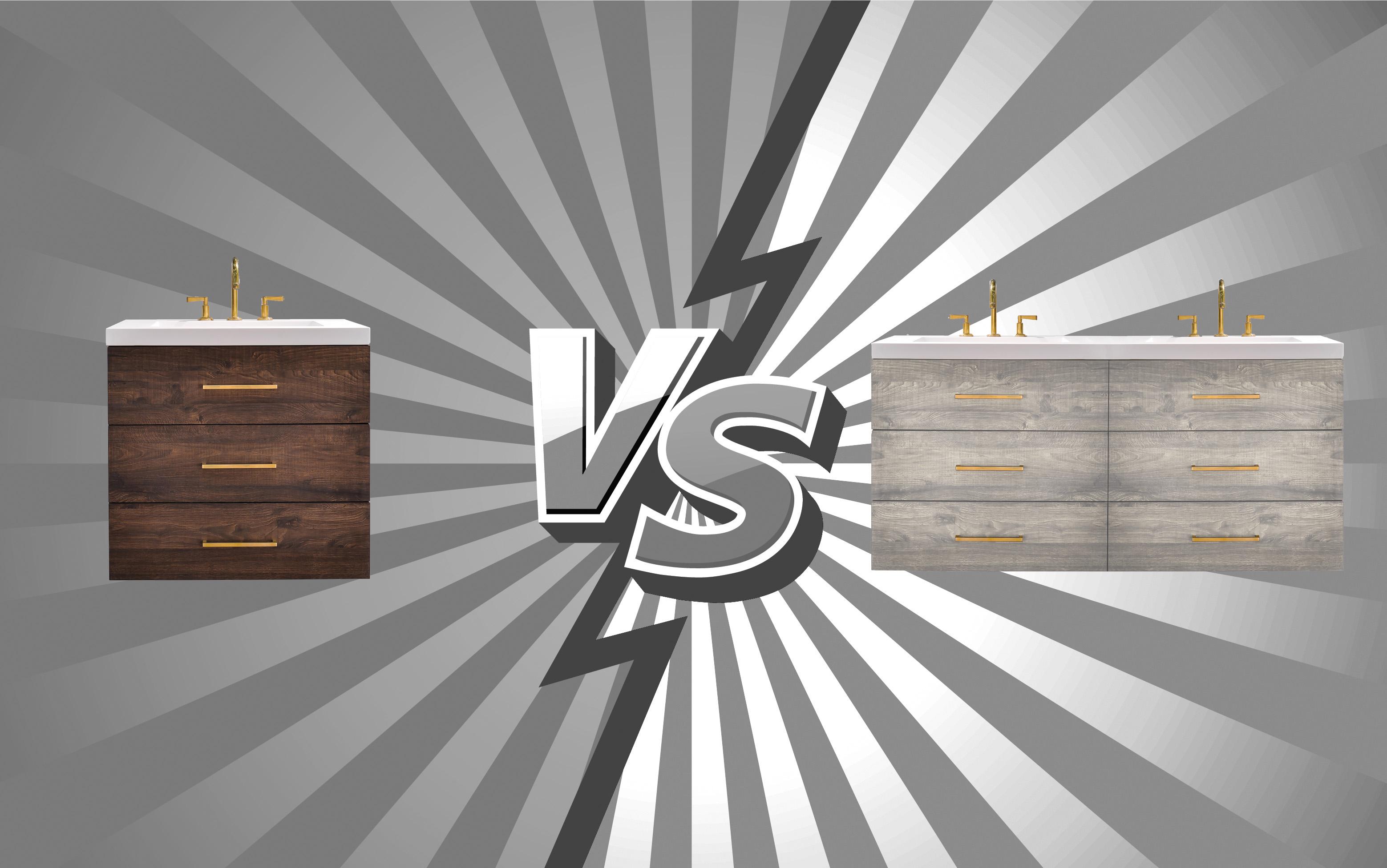 Vanity Showdown: Double Sink vs Single Sink